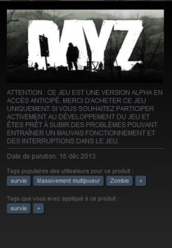 Les tags Steam